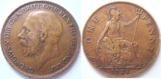 1_penny_1927_george_5