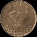 British_farthing_1951_reverse
