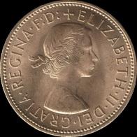 British_pre-decimal_penny_1967_obverse