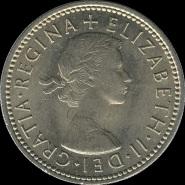British_shilling_1963_obverse