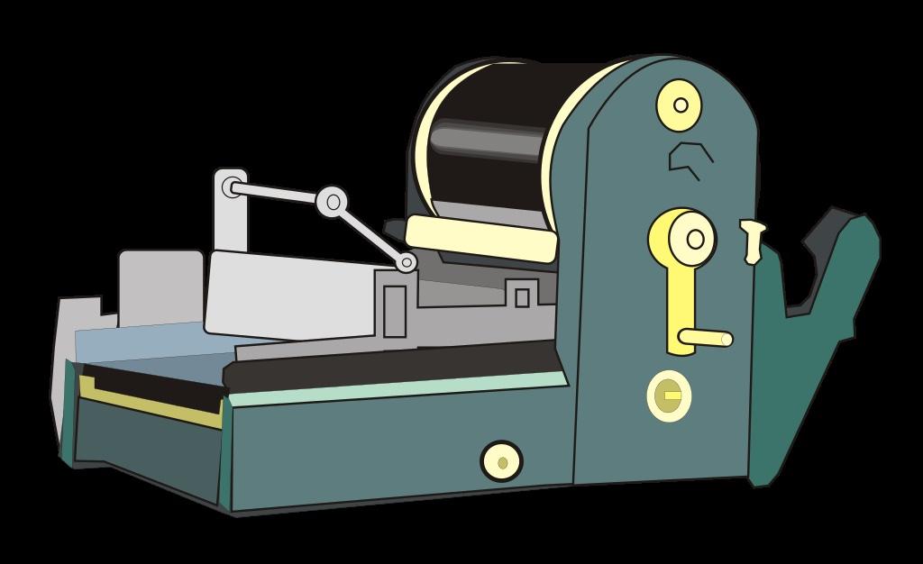 stencil machine