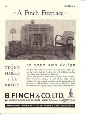fireplace advert