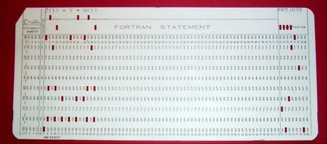 FORTRAN_Card