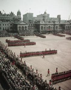 Trooping_the_Colour,_1956